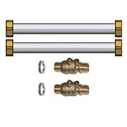 Kit tubulures de liaison vanne 3 voies interne