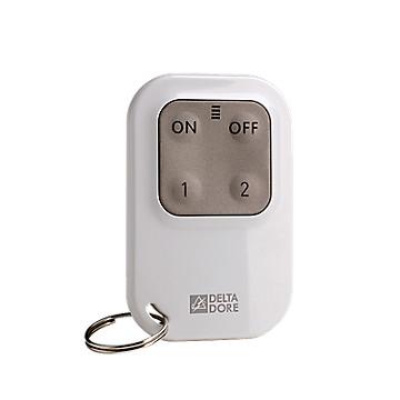 Télécommande radio pour système d'alarme et/ou automatismes Delta Dore