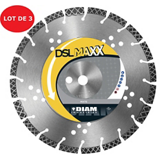 Lot de 3 disques diamant DSL MAXX D.230