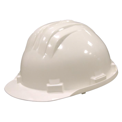 Casque de chantier Casarti blanc Idem Production