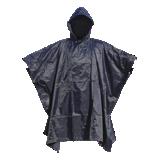 Poncho de pluie PVC marine