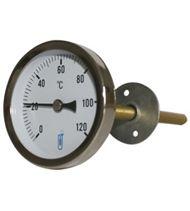 Thermomètre bimétallique pour gaine d'air A48D