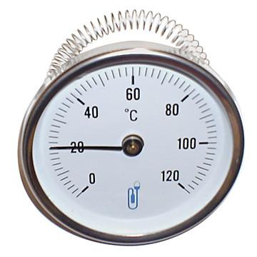 Thermomètre bimétallique à cadran