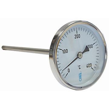 Thermomètre bimétallique de fumée A47 Distrilabo
