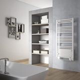 Sèche-serviettes électrique soufflant à tubes ronds