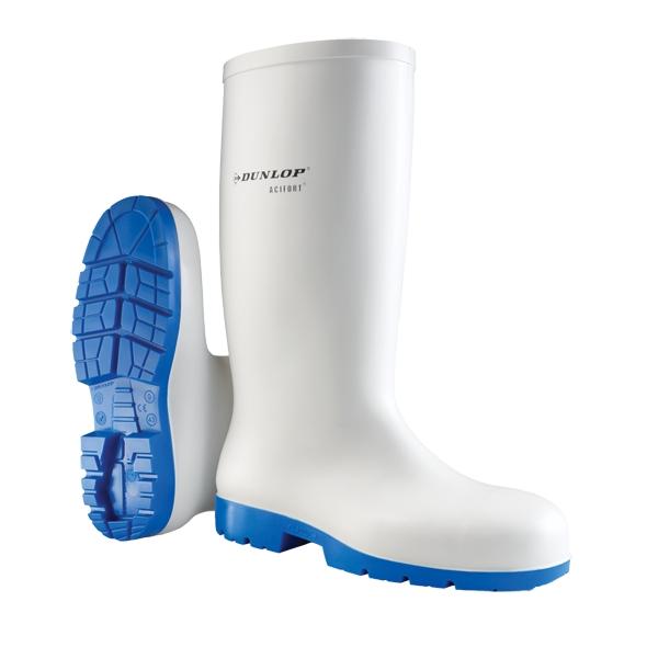 Bottes Acifort Classic+ Safety A1813313 - Blanc/Bleu Dunlop