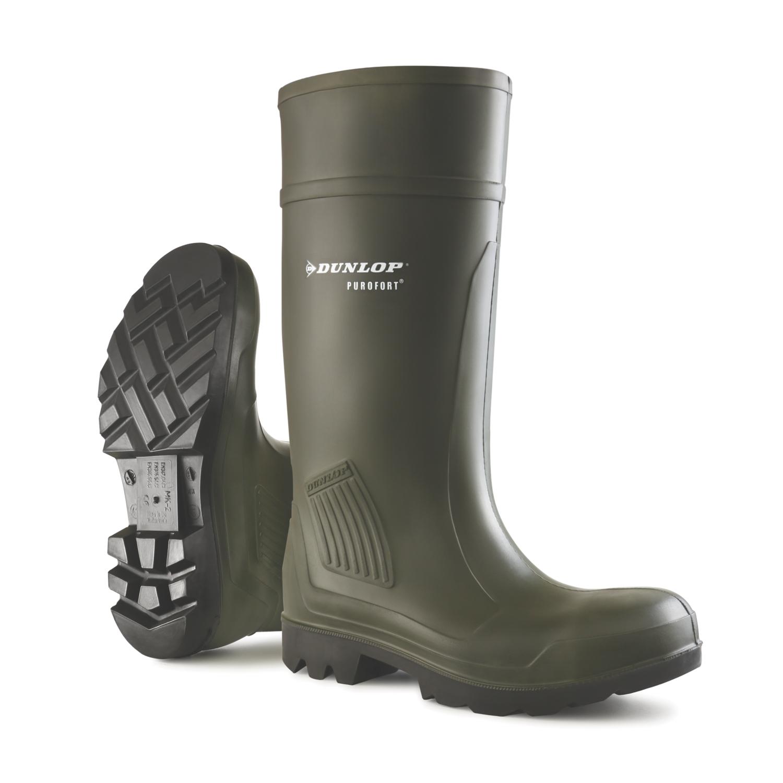 Bottes Purofort C462931 - Vert foncé Dunlop