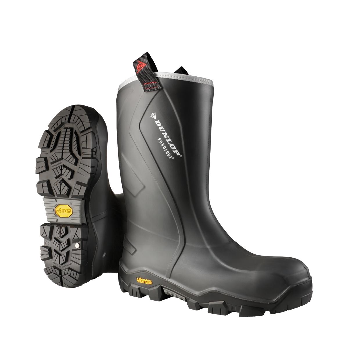 Bottes Purofort+ Reliance Full Safety CC22A33.CH - Anthracite/Noir Dunlop