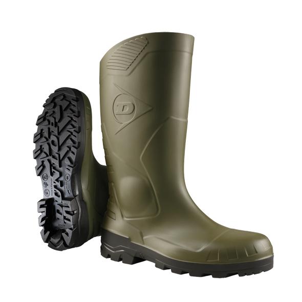 Bottes Devon Full Safety H142611 - Vert/Noir Dunlop