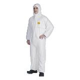 Combinaison polyéthylène blanc Tyvek® 200 Easysafe