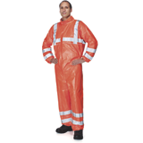 Combinaison orange fluo Tyvek® 500 HV