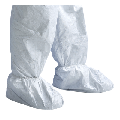 Couvre-chaussures jetables blanches POS0 Tyvek