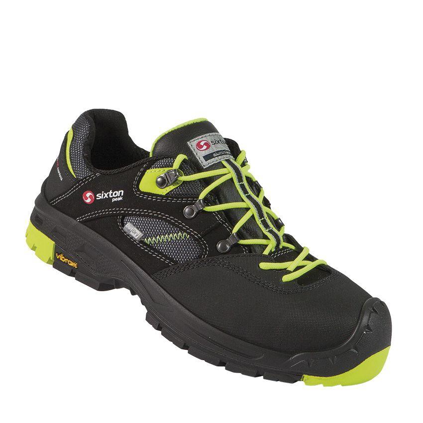 Chaussures basses Ortles 30335-00L - Noir/Jaune EBM Distribution