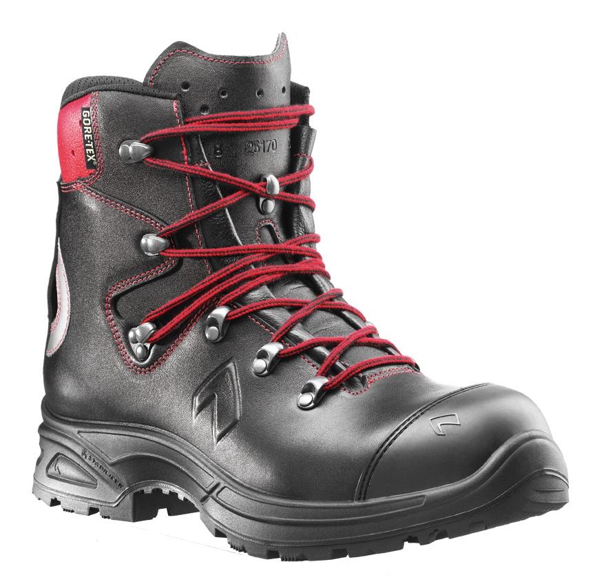 Chaussures hautes Air power XR3 - Noir/Rouge Haix