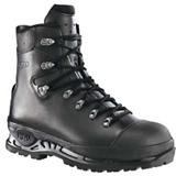 Chaussures hautes cuir imperméable hydrophobe noir Trekker Pro S3