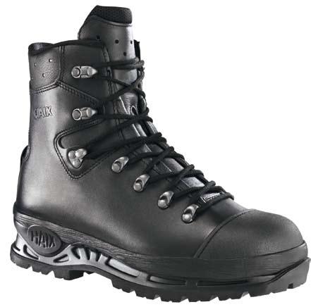 Chaussures hautes Trekker Pro 602002 - Noir/Rouge Haix