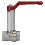 Vanne BS ASTER PN 40 FF avec réhausse pour calorifuge