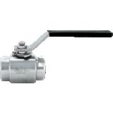 Vanne Monoblock FF PTFE NPT - vapeur et pression