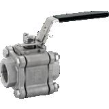 Vanne Titan inox PTFE NPT