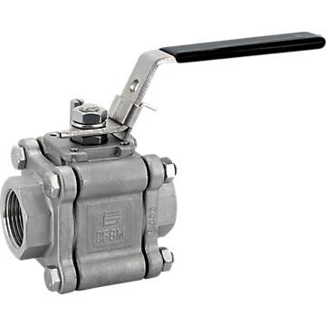 Vanne Titan inox PTFE GAZ Effebi