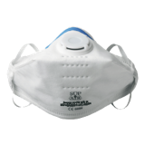 Masque pliable avec soupape FFP3 boîte de 20