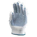 Gants de travail tricoté en coton avec picots
