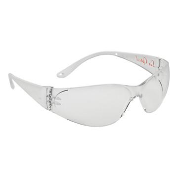 Lunettes de protection Pokelux oculaires et branches incolore Lux Optical