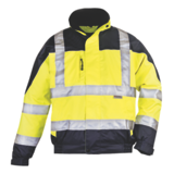 Blouson haute-visibilité Breathane Hi-viz jaune/marine