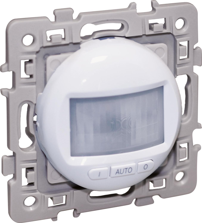 Interrupteur automatique 2 fils sans neutre Square Blanc Eur'Ohm