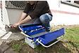 Boîte à outils métallique 5 cases 450 mm