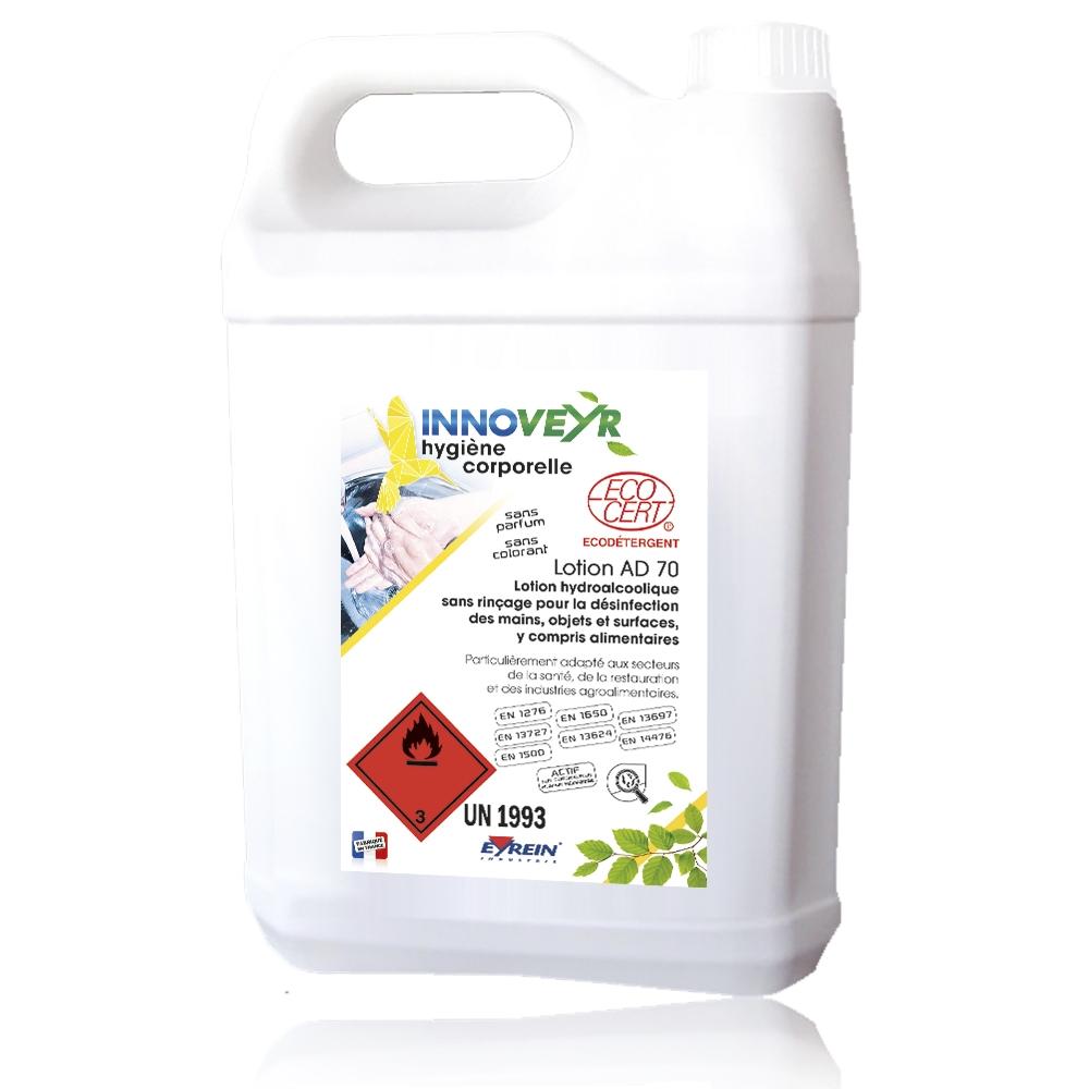 Lotion hydro-alcoolique AD70 Eyrein