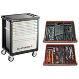 Servante Chrono XL 6 tiroirs équipée de 110 outils