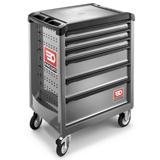 Servante d'atelier 6 tiroirs grise ROLL.6GM3PB