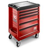 Servante d'atelier 6 tiroirs rouge ROLL.6M3PB