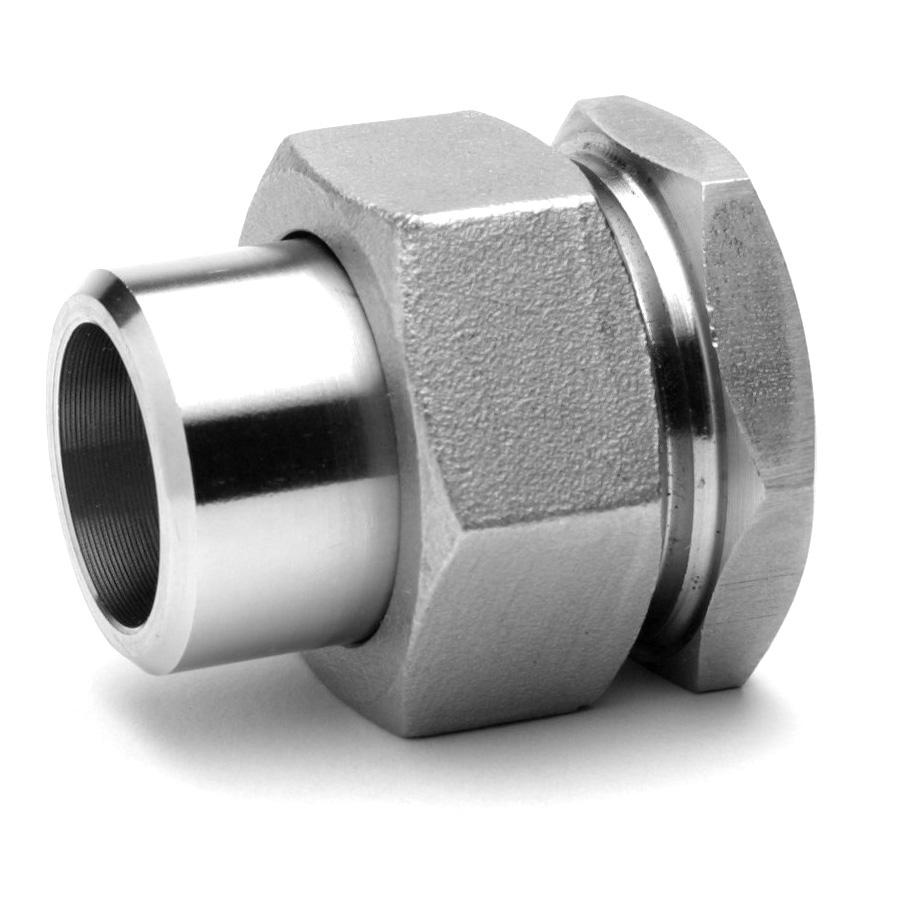 Raccord union 3 pièces LF inox 316 Raccorderie Metalliche
