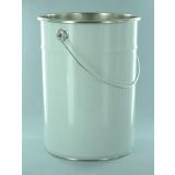 Seaux en fer blanc avec couvercle