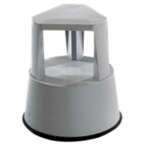 Marchepied cylindrique roulant