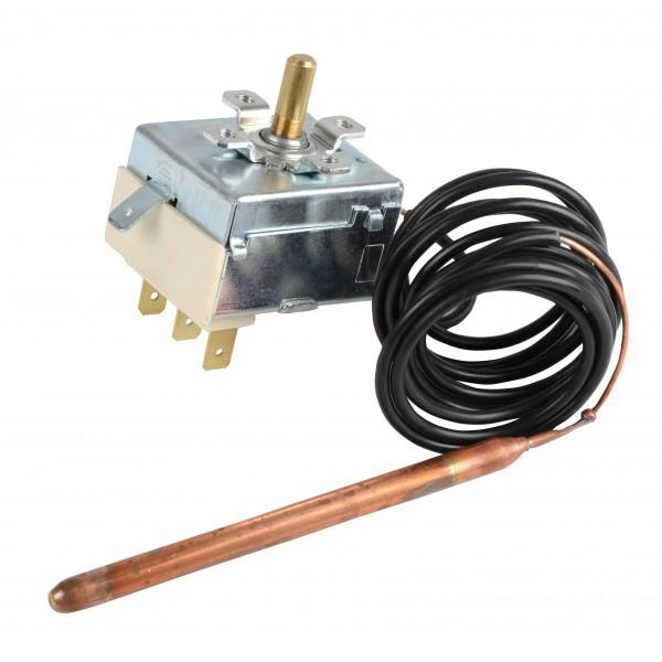 Thermostat réglage chauffage 35-90°C capillaire 1,5m sur nouveau modèle Atlantic