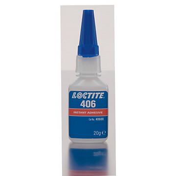 Colle 406 cyanoacrylate Henkel Loctite