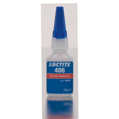 Colle 406 cyanoacrylate Loctite