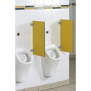 Séparation d'urinoir murale en stratifié France Equipement