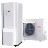 Pompe à chaleur Alféa Hybrid Duo fioul : ECS par ballon intégré 125L