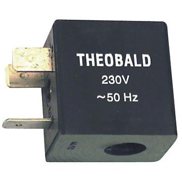 Bobine électrovanne pour bloc BF885 + clip Frisquet