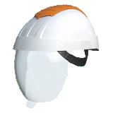 Casque électricien E-man blanc