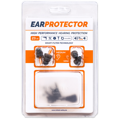Bouchons moulés EAR Protector Infield Safety