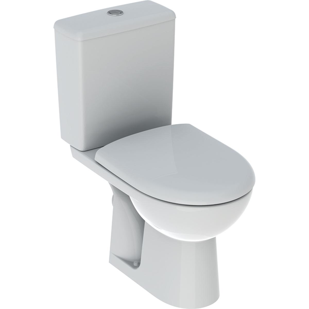 Pack WC complet Renova Rimfree - Sortie horizontale Geberit