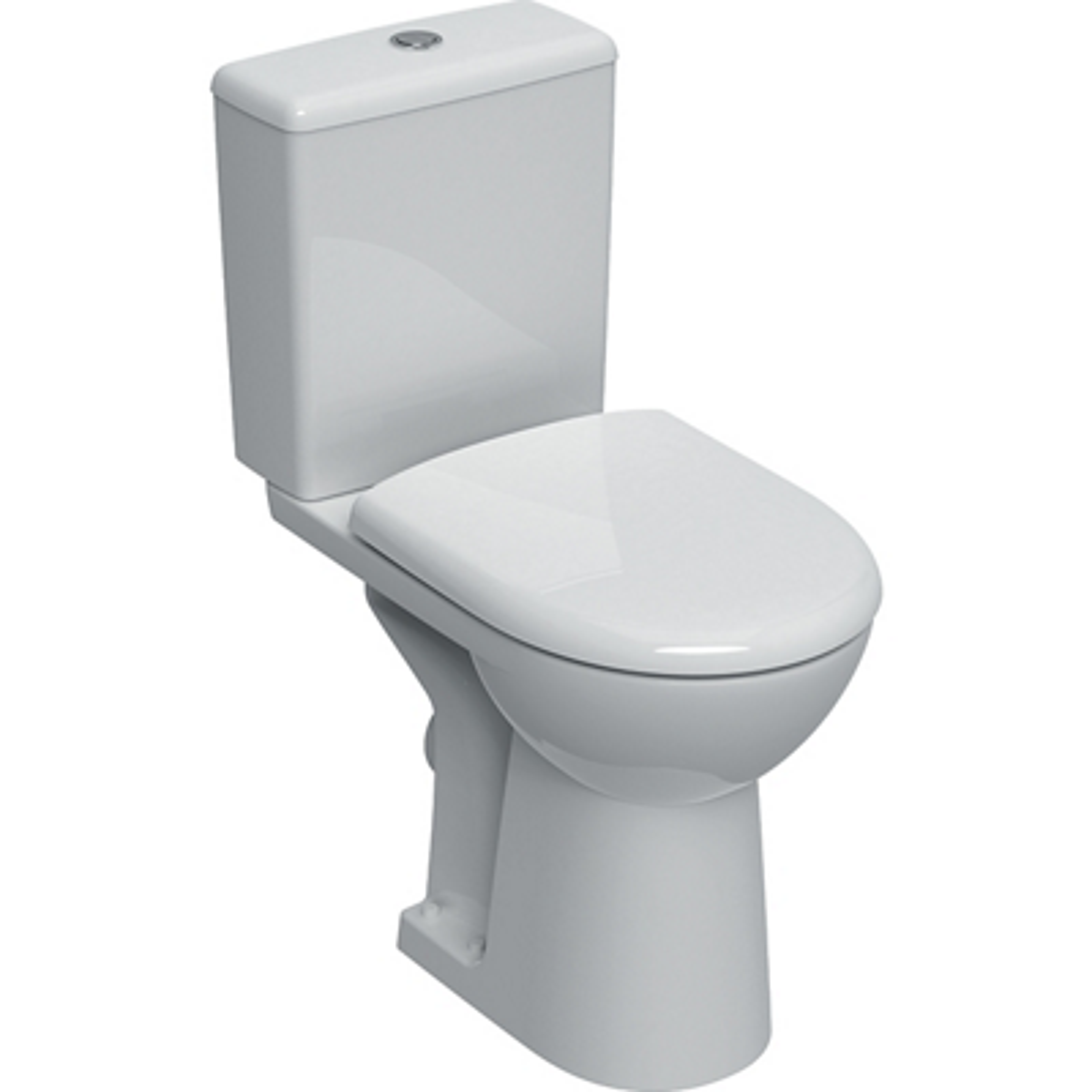 Pack WC complet surélevé Renova Comfort - Sortie horizontale Geberit
