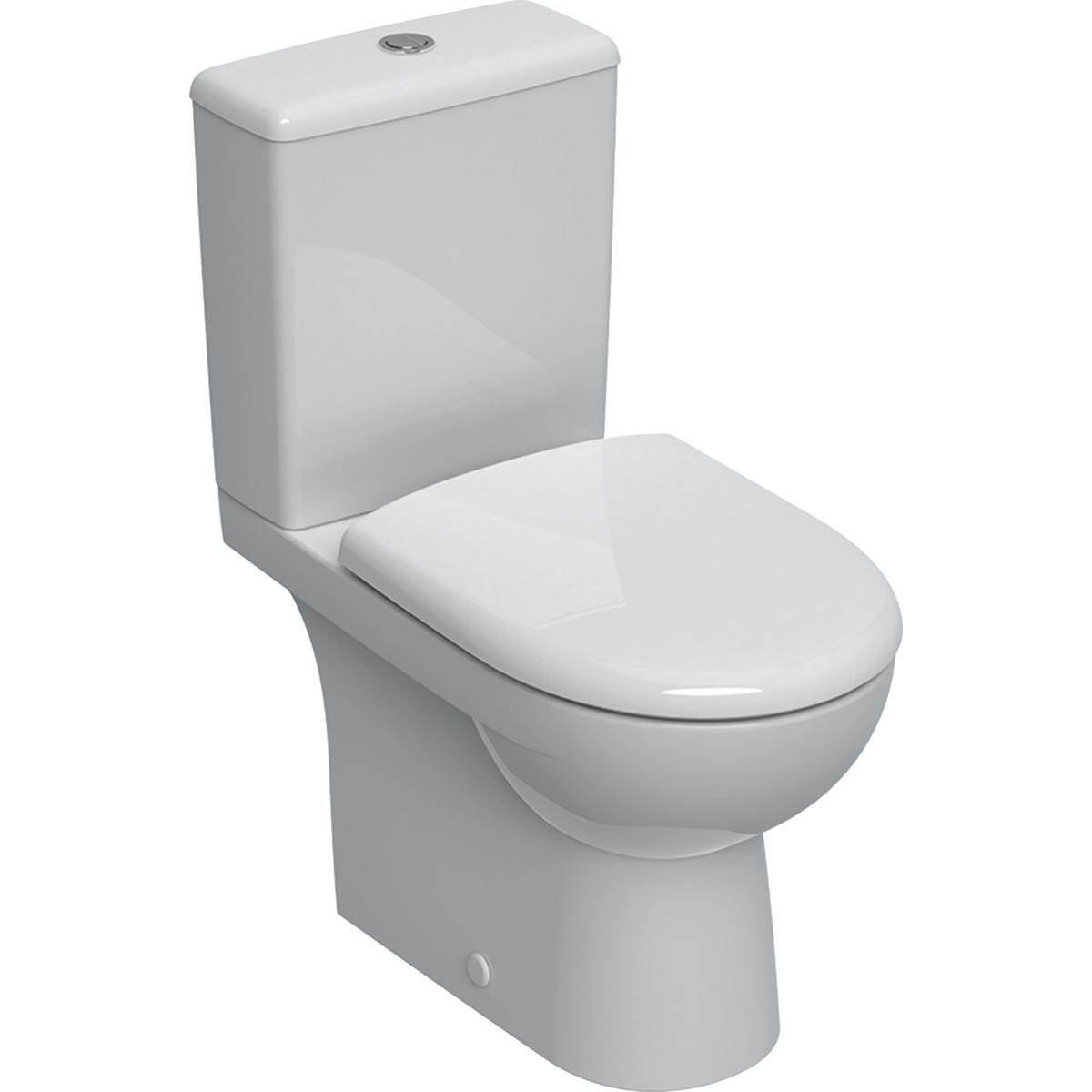 Pack WC complet Renova Rimfree - Sortie orientable Geberit