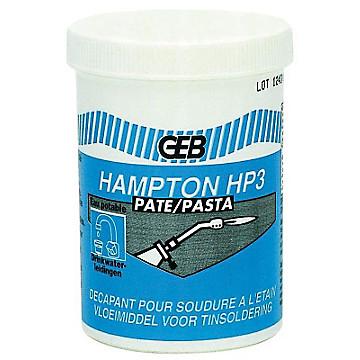 Gel décapant pour soudure à l'étain HAMPTON HP3 Geb