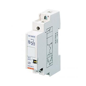 Télérupteur - 1NO 16A 230V AC - 1 Module Gewiss